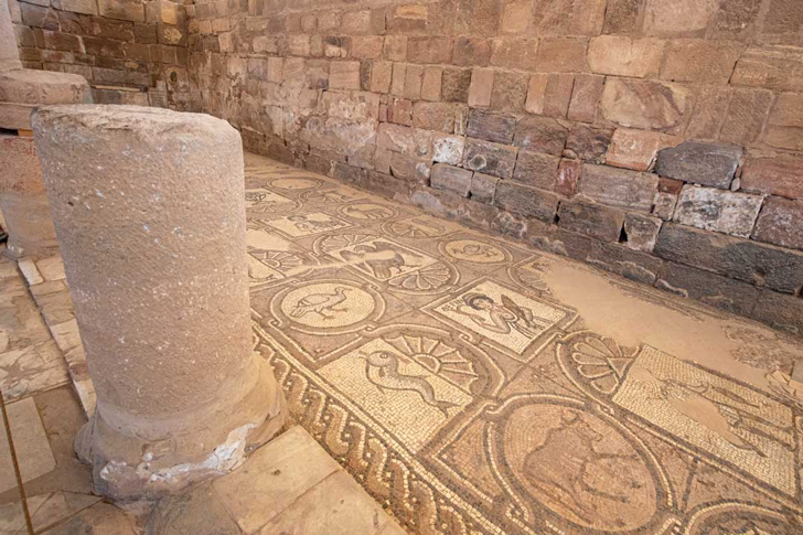 کلیسای بیزانس پترا