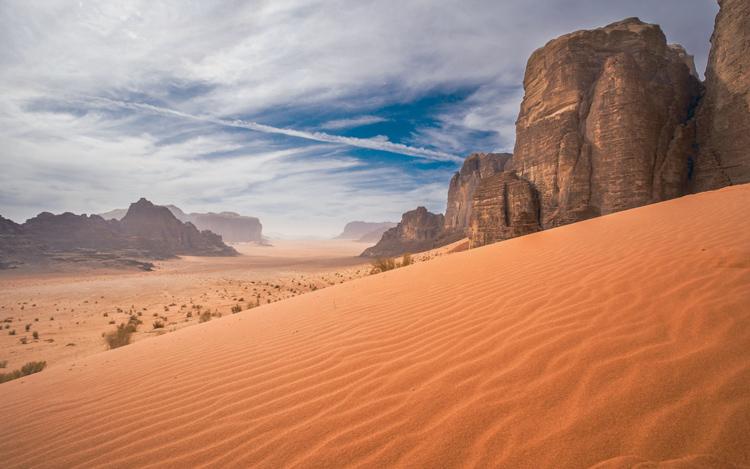 صحرای وادی روم