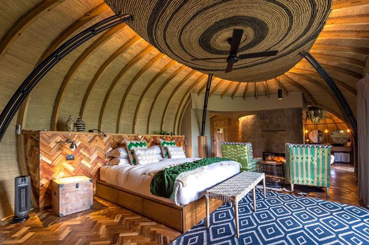طراحی هتل بیساته لاج رواندا