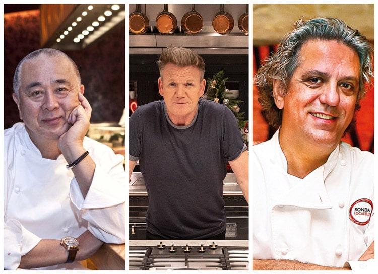 آشپزهای معروف هتل آتلانتیس پالم دبی