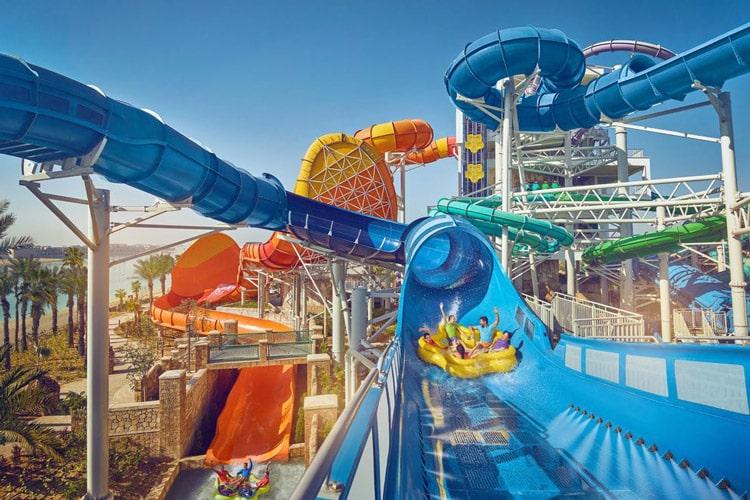پارک آبی هتل آتلانتیس دبی